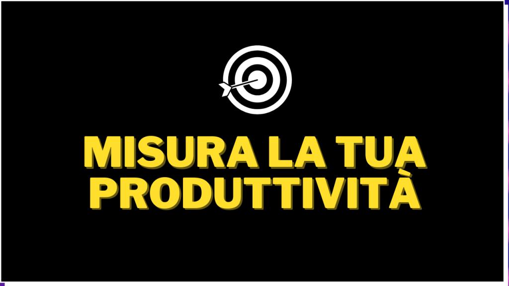 Quiz Produttività